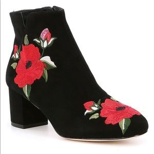 Kate Spade suede booties, size 8.5, new